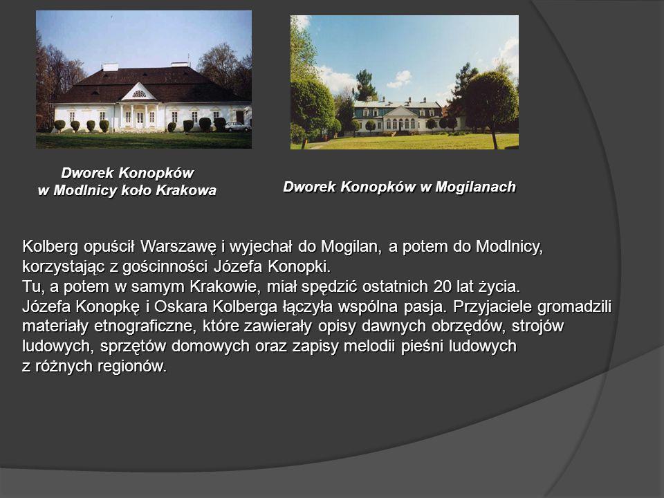 Dworek Konopków w Modlnicy koło Krakowa Dworek Konopków w Mogilanach
