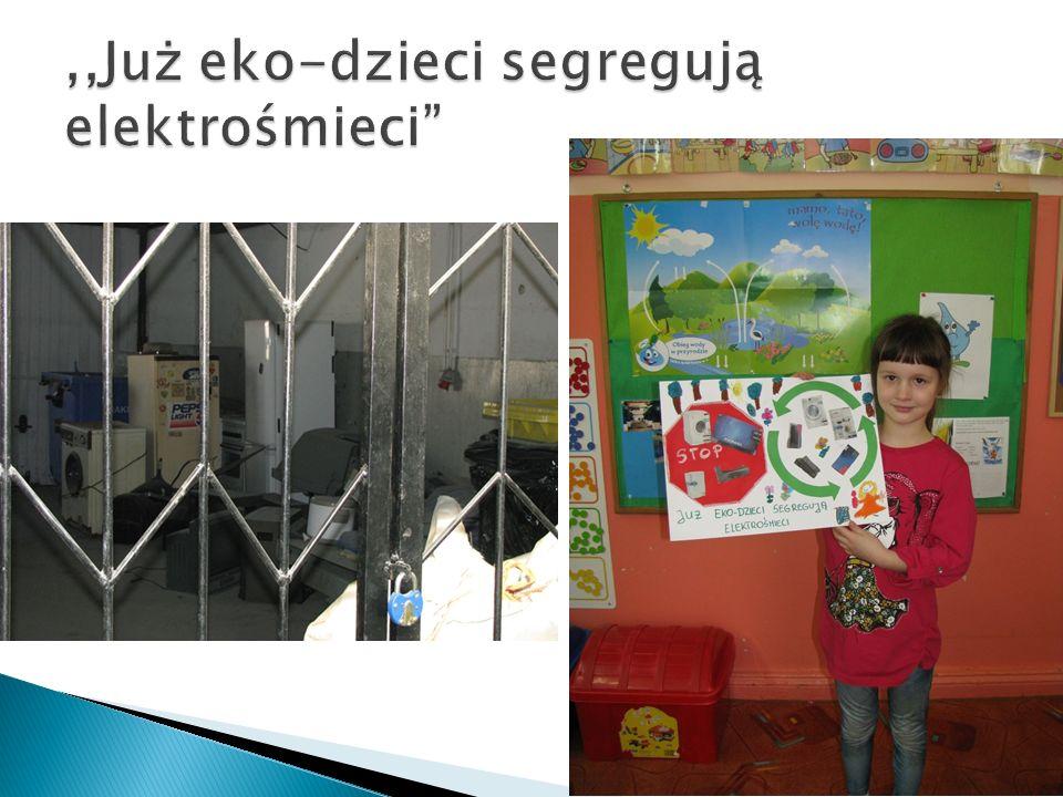 ,,Już eko-dzieci segregują elektrośmieci