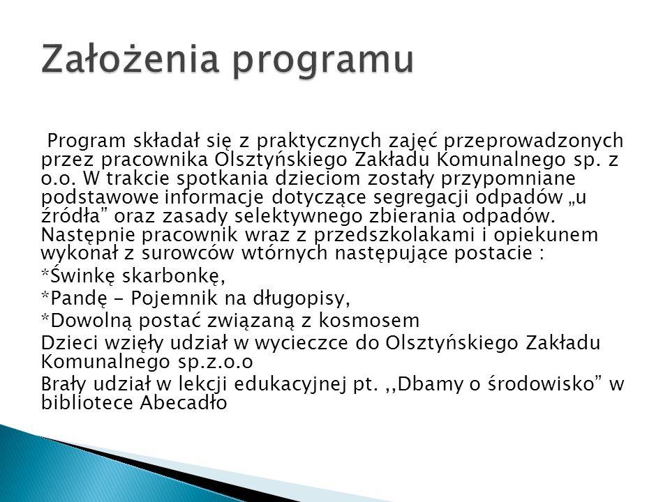Założenia programu