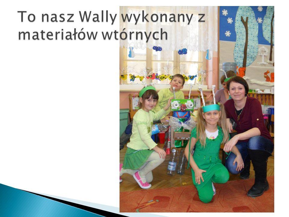 To nasz Wally wykonany z materiałów wtórnych