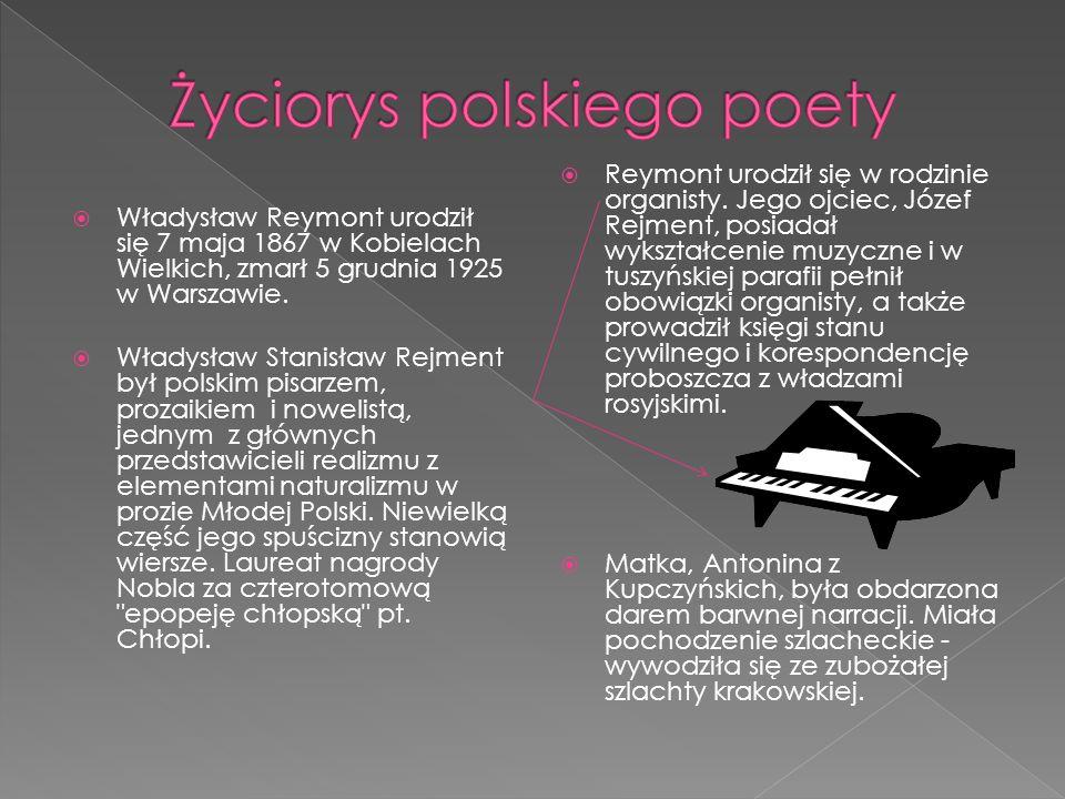 Życiorys polskiego poety