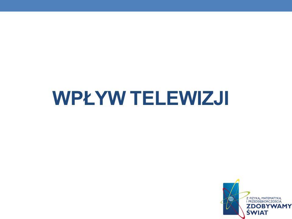 Wpływ telewizji