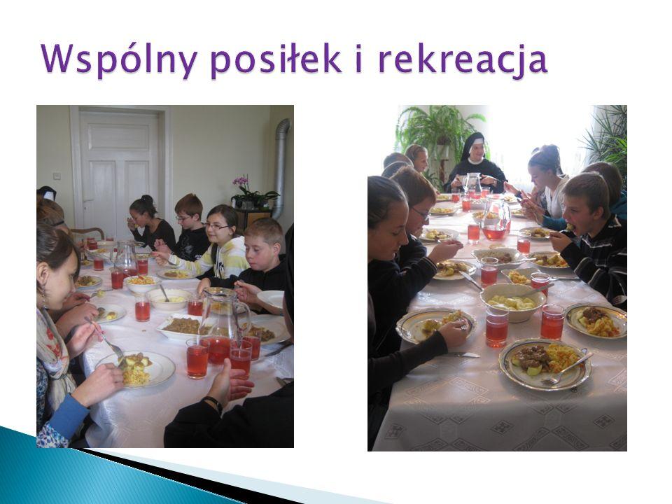 Wspólny posiłek i rekreacja
