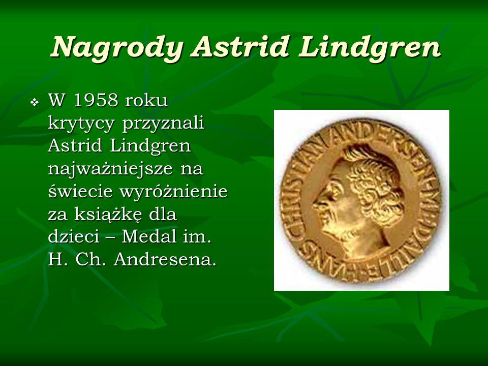 Nagrody Astrid Lindgren