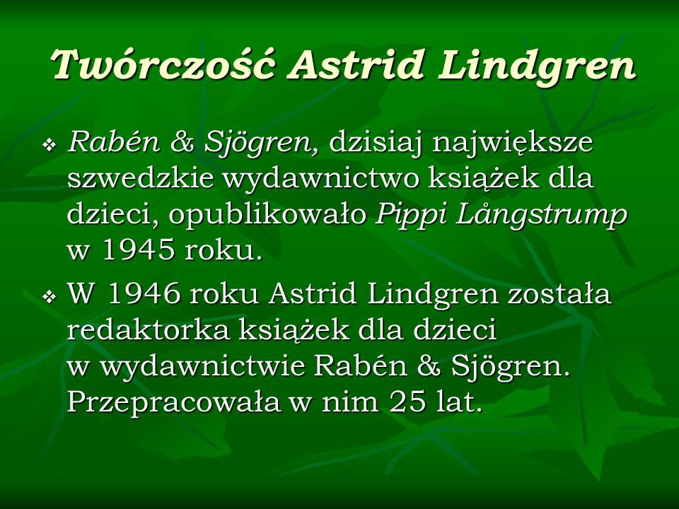 Twórczość Astrid Lindgren