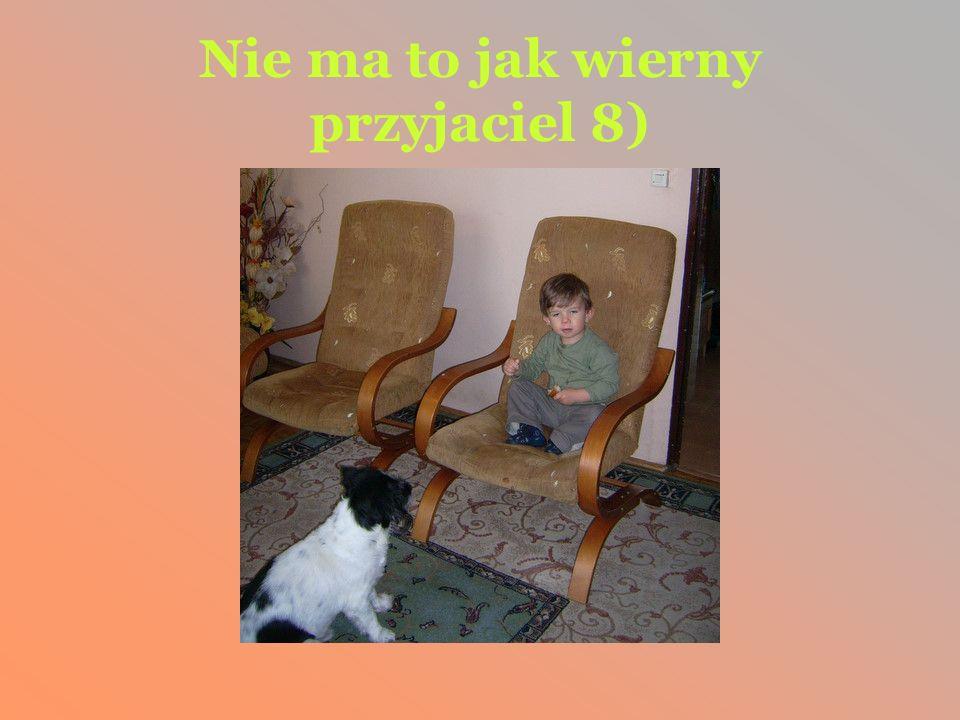 Nie ma to jak wierny przyjaciel 8)