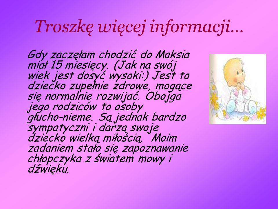 Troszkę więcej informacji…