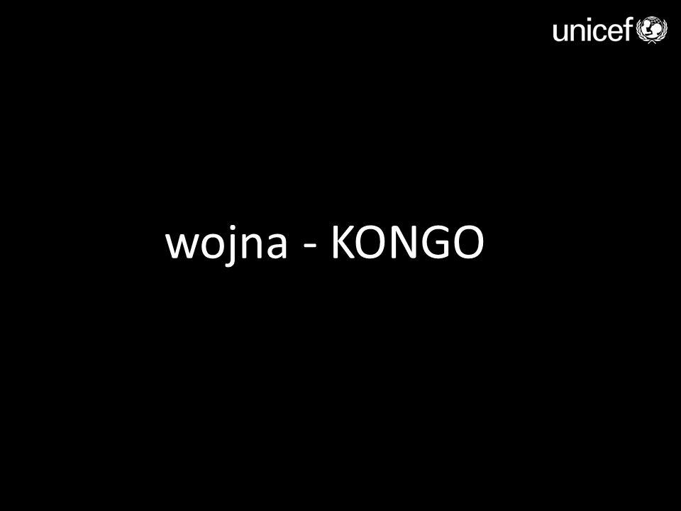 wojna - KONGO