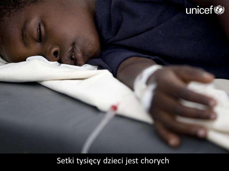 Setki tysięcy dzieci jest chorych