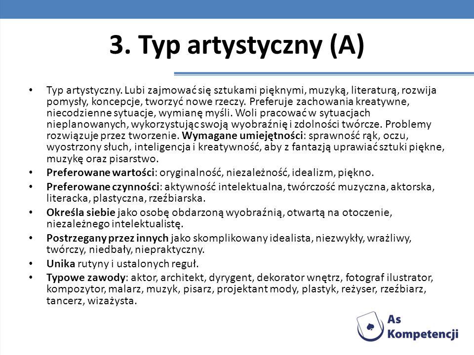 3. Typ artystyczny (A)
