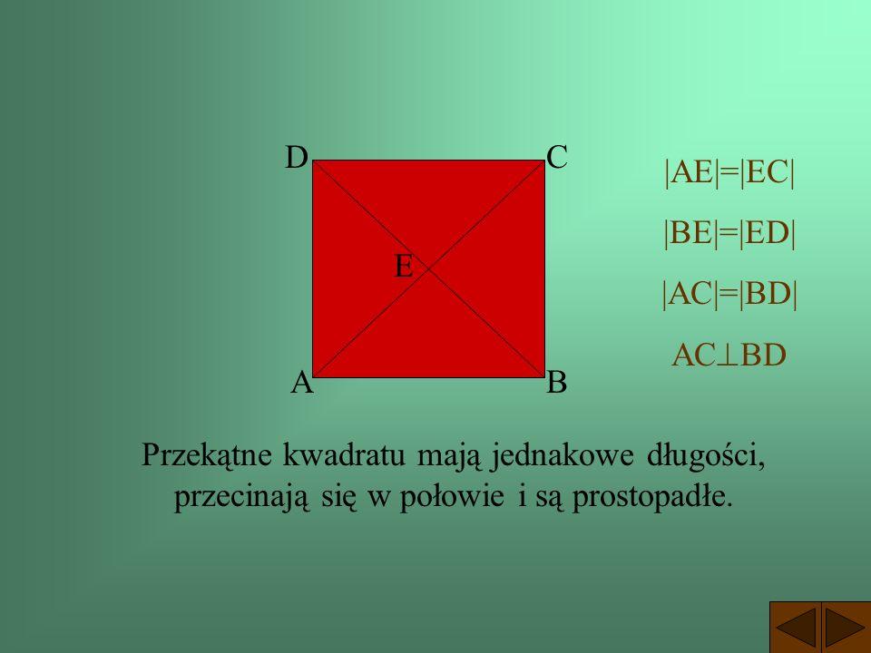 D C. |AE|=|EC| |BE|=|ED| |AC|=|BD| ACBD. E.