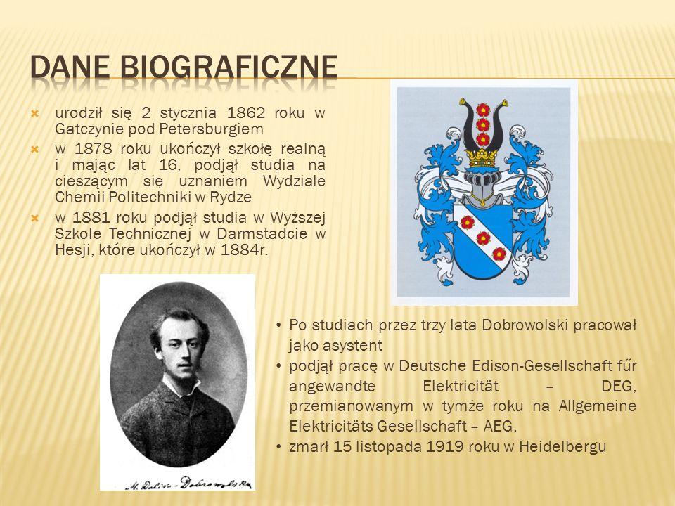 Dane biograficzne urodził się 2 stycznia 1862 roku w Gatczynie pod Petersburgiem.