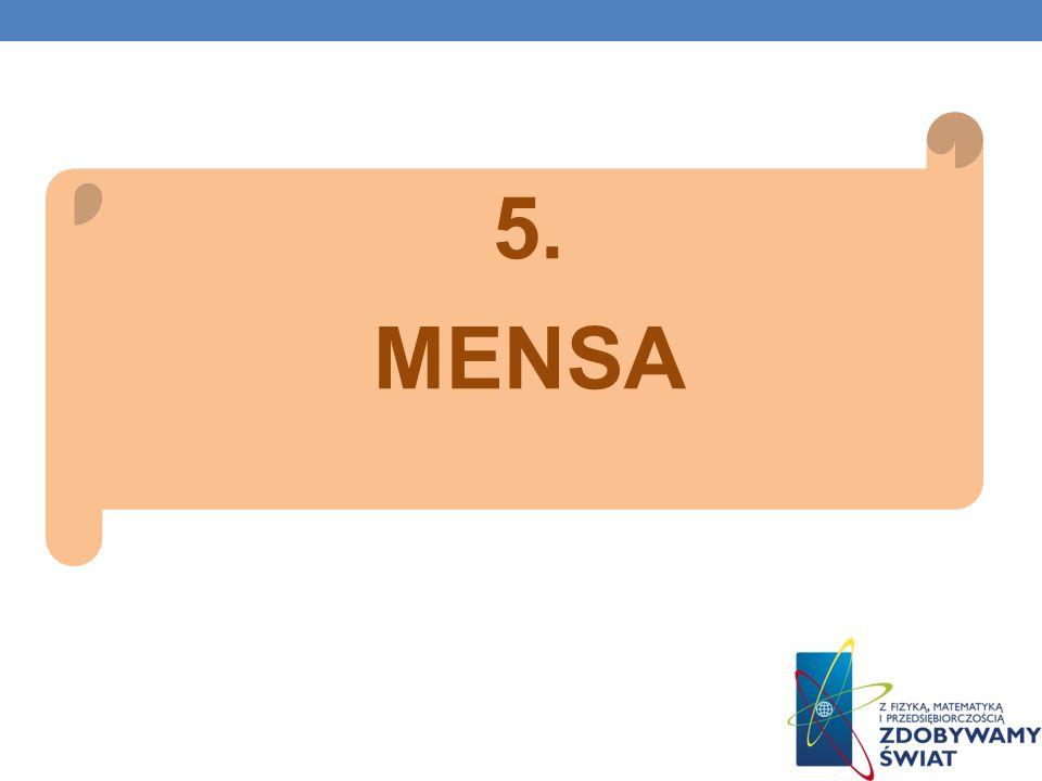 5. MENSA