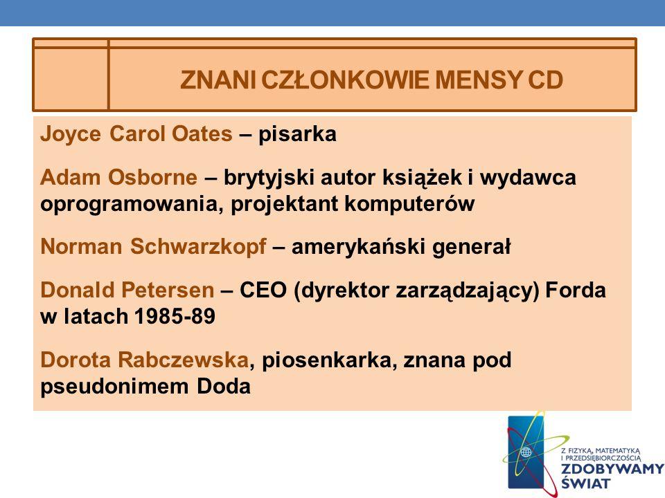 Znani członkowie mensy cd