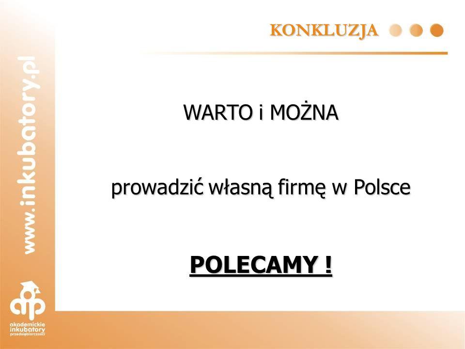 prowadzić własną firmę w Polsce