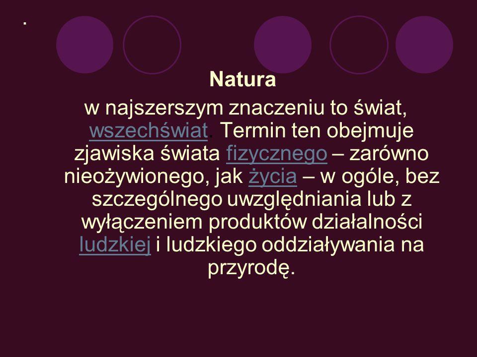 . Natura.
