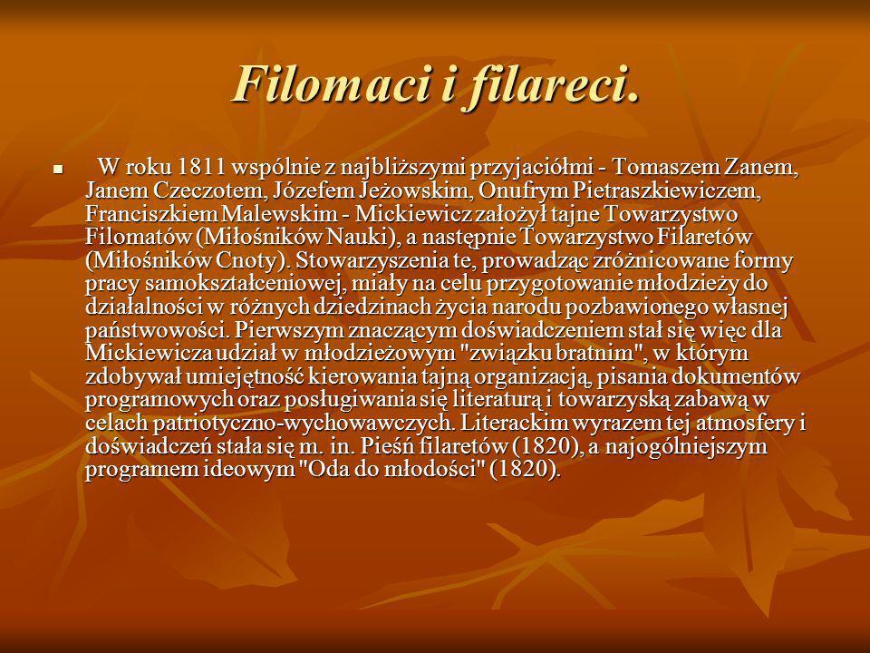 Filomaci i filareci.