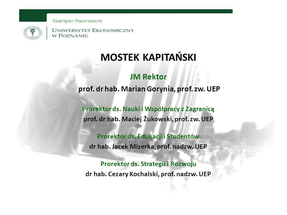 MOSTEK KAPITAŃSKI JM Rektor