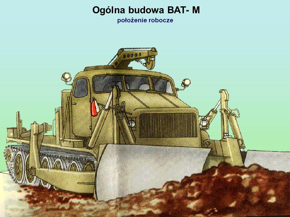 Ogólna budowa BAT- M położenie robocze