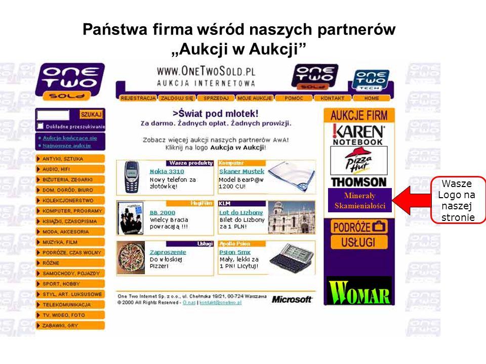 """Państwa firma wśród naszych partnerów """"Aukcji w Aukcji"""