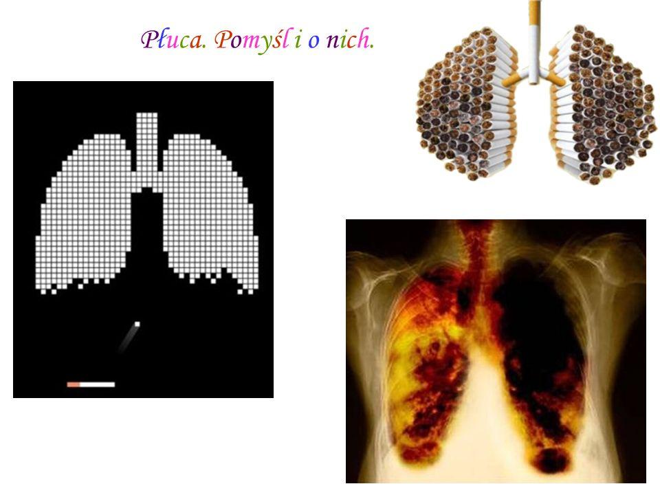 Płuca. Pomyśl i o nich.