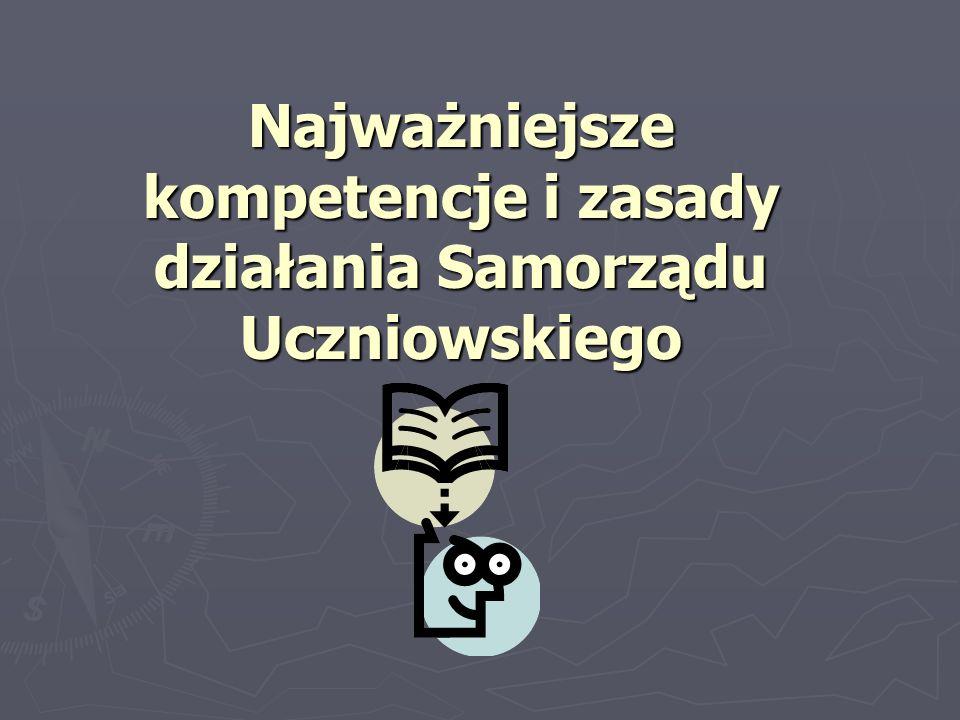 Najważniejsze kompetencje i zasady działania Samorządu Uczniowskiego