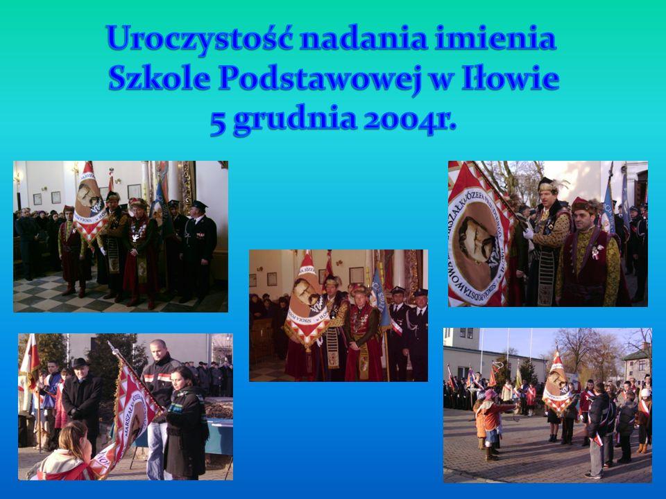 Uroczystość nadania imienia Szkole Podstawowej w Iłowie