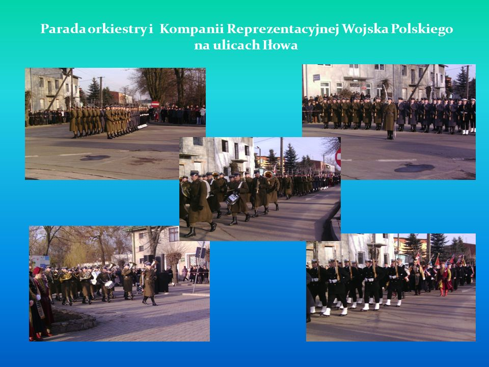 Parada orkiestry i Kompanii Reprezentacyjnej Wojska Polskiego