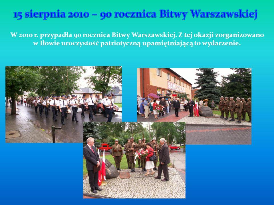 15 sierpnia 2010 – 90 rocznica Bitwy Warszawskiej