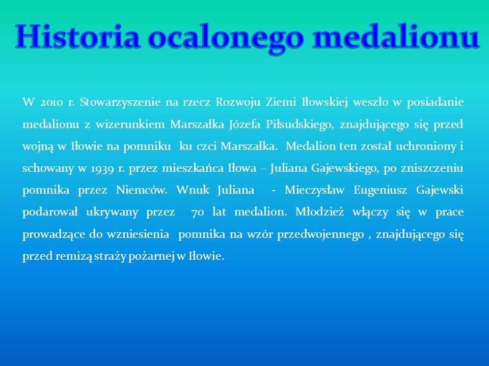 Historia ocalonego medalionu