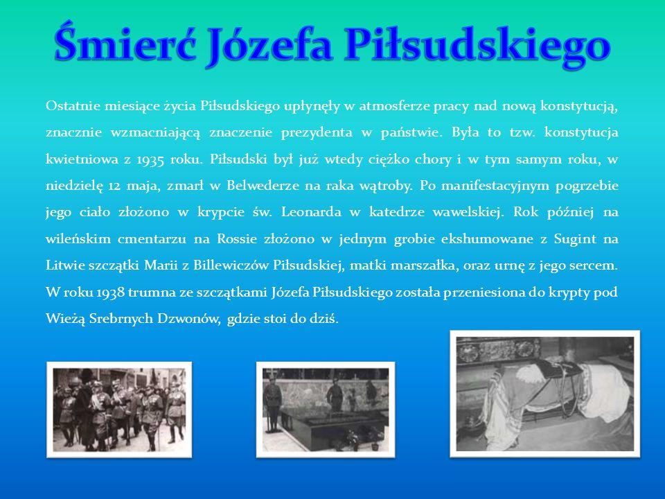 Śmierć Józefa Piłsudskiego