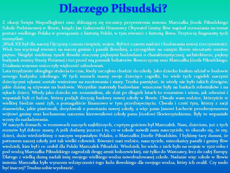 Dlaczego Piłsudski