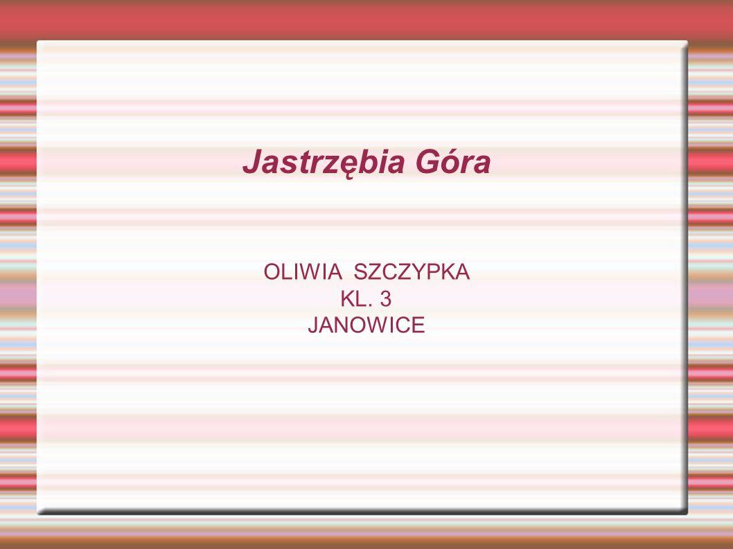 OLIWIA SZCZYPKA KL. 3 JANOWICE