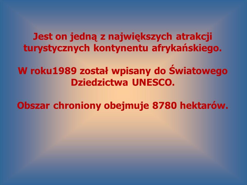 W roku1989 został wpisany do Światowego Dziedzictwa UNESCO.