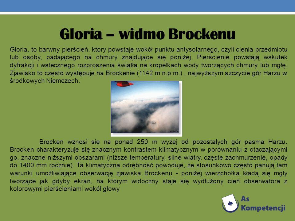 Gloria – widmo Brockenu