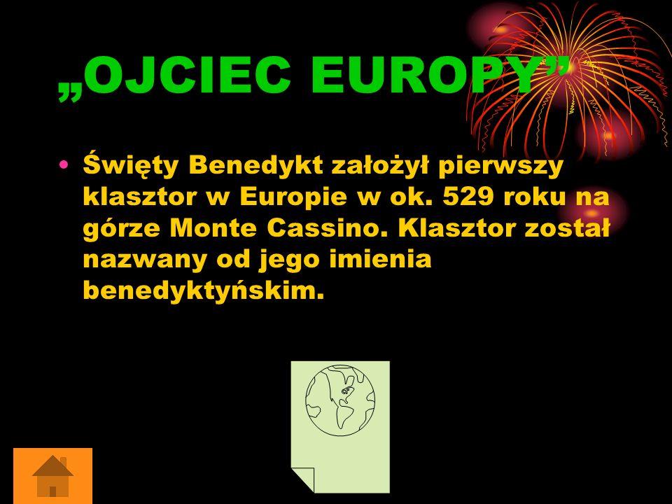 """OJCIEC EUROPY"