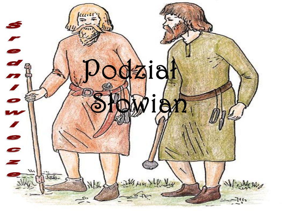 Podział Słowian Średniowiecze