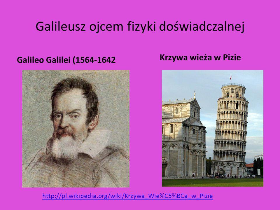 Galileusz ojcem fizyki doświadczalnej
