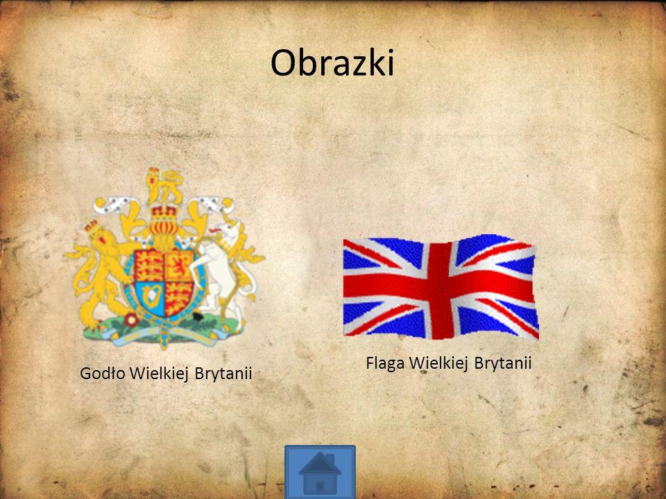 Obrazki Flaga Wielkiej Brytanii Godło Wielkiej Brytanii