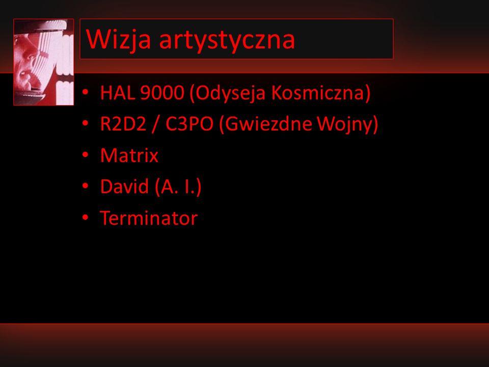 Wizja artystyczna HAL 9000 (Odyseja Kosmiczna)