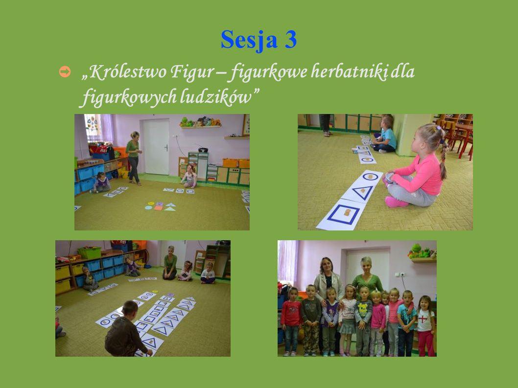 """Sesja 3 """"Królestwo Figur – figurkowe herbatniki dla figurkowych ludzików"""