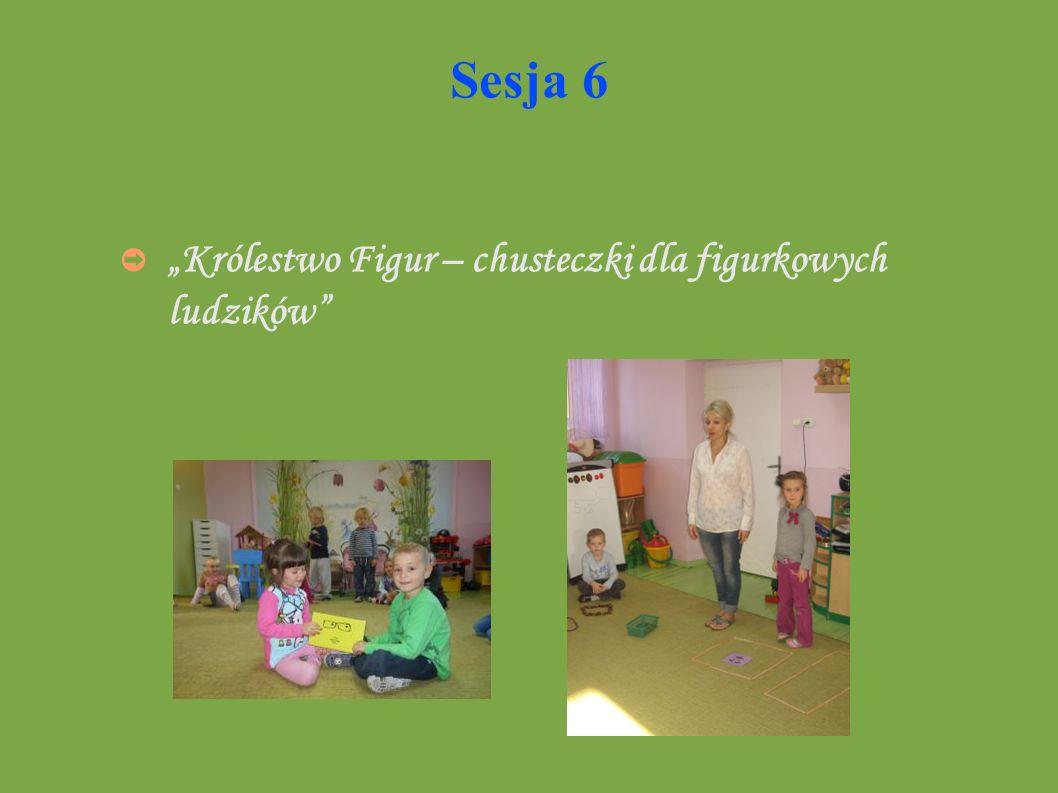"""Sesja 6 """"Królestwo Figur – chusteczki dla figurkowych ludzików"""