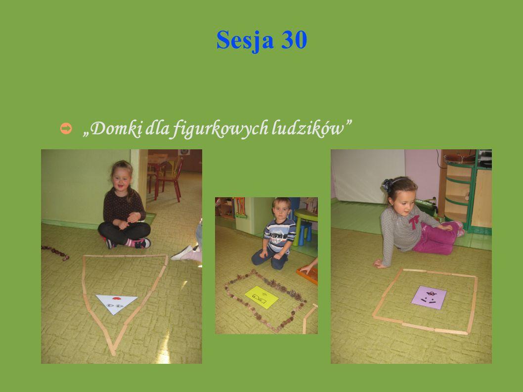 """Sesja 30 """"Domki dla figurkowych ludzików"""