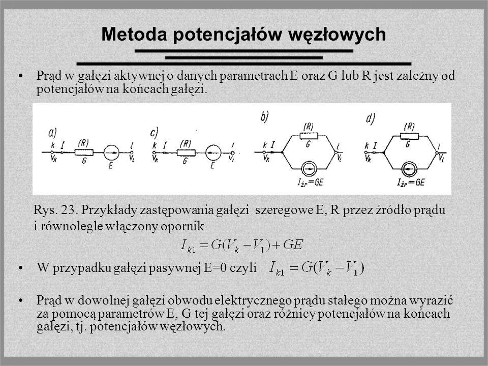Metoda potencjałów węzłowych