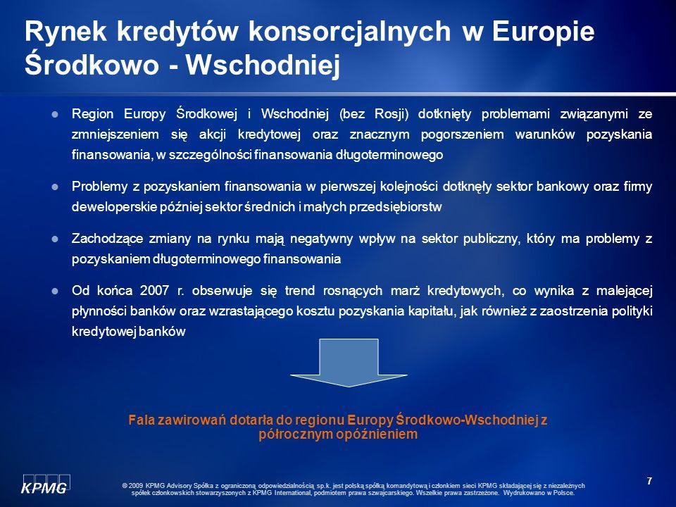Rynek kredytów konsorcjalnych w Europie Środkowo - Wschodniej