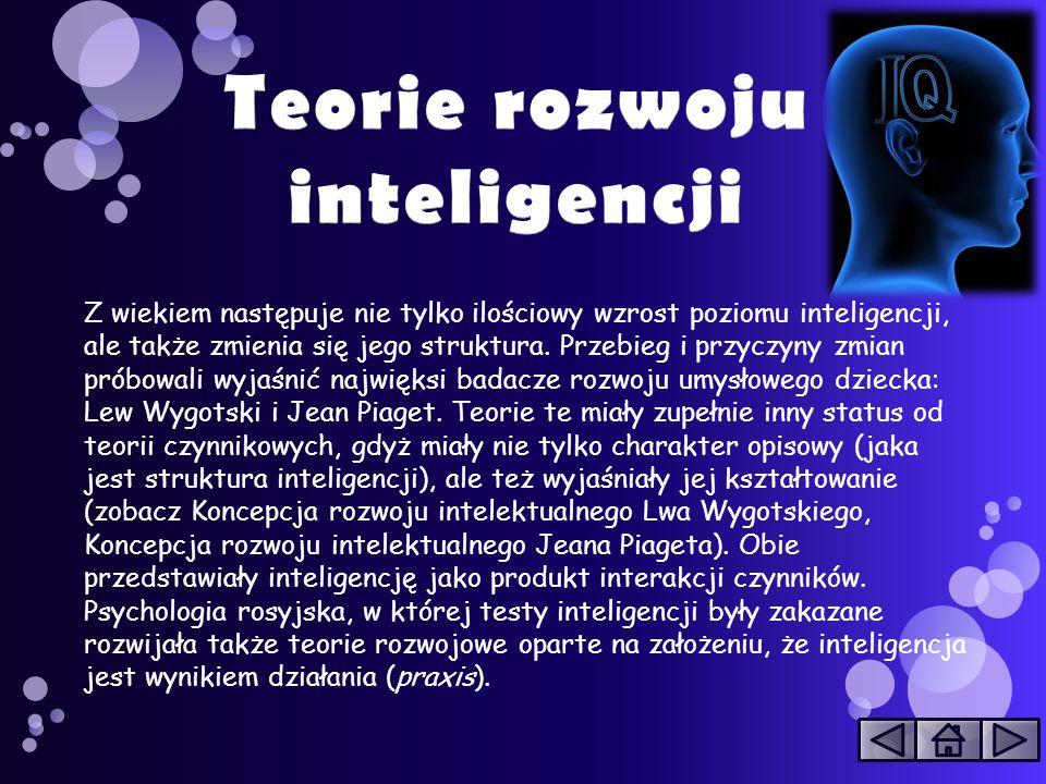 Teorie rozwoju inteligencji