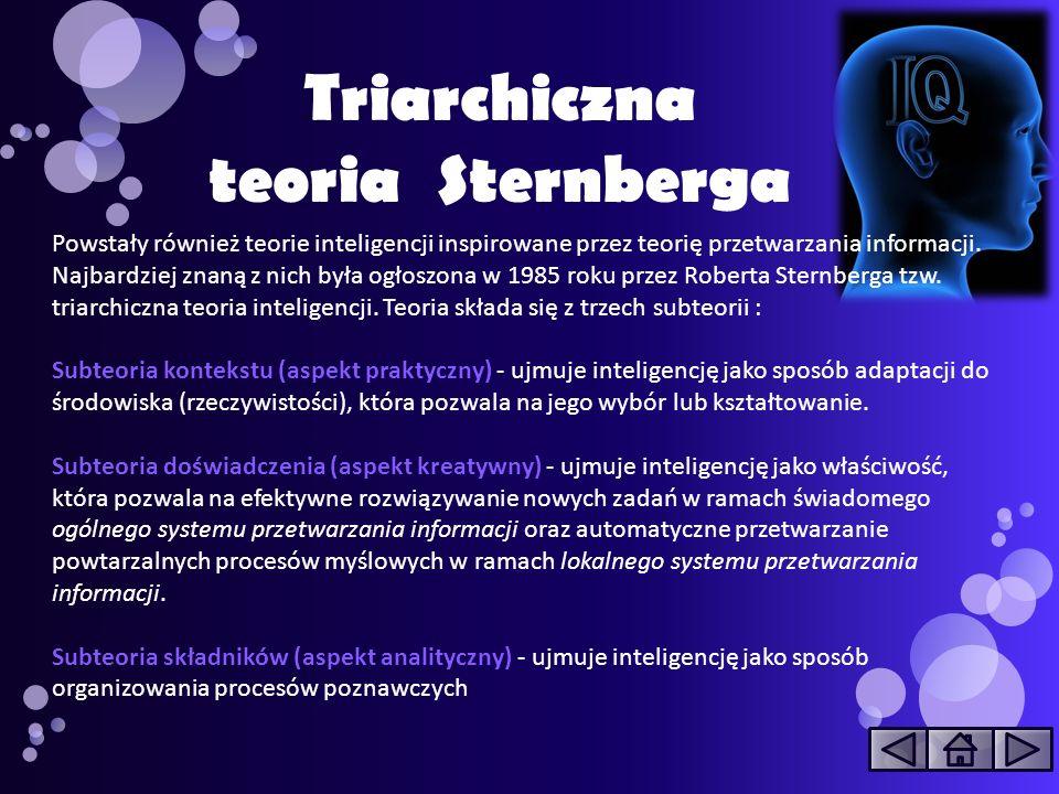 Triarchiczna teoria Sternberga