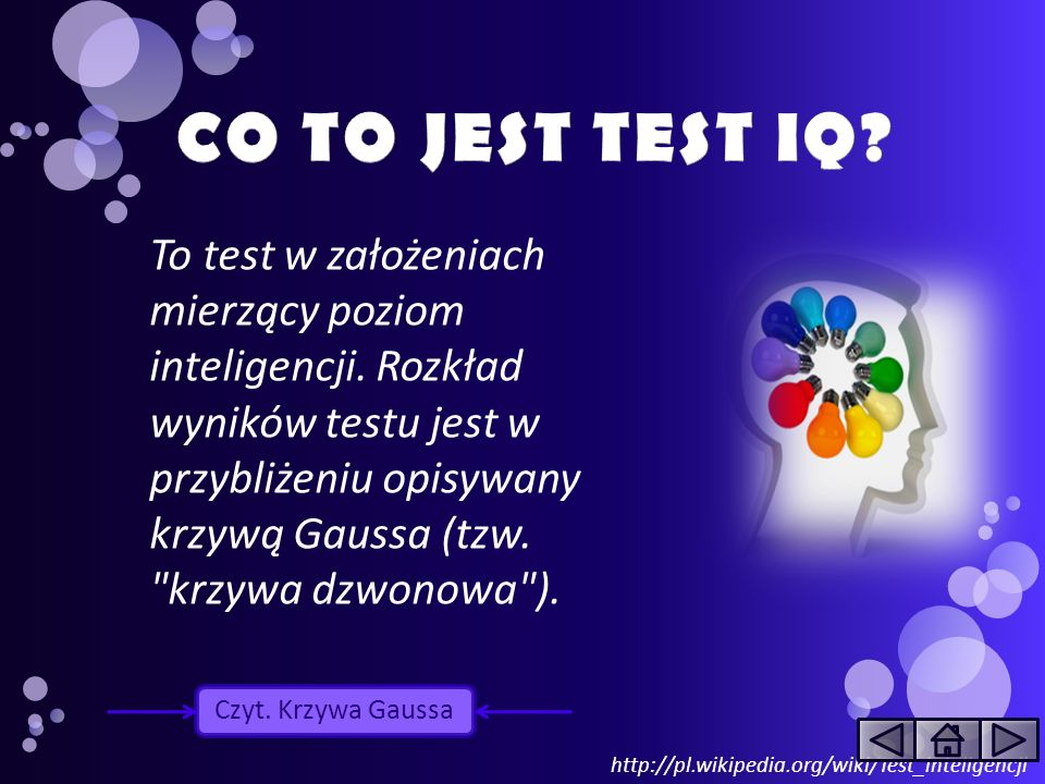 CO TO JEST TEST IQ