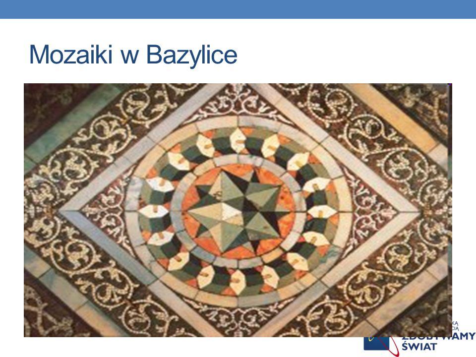 Mozaiki w Bazylice