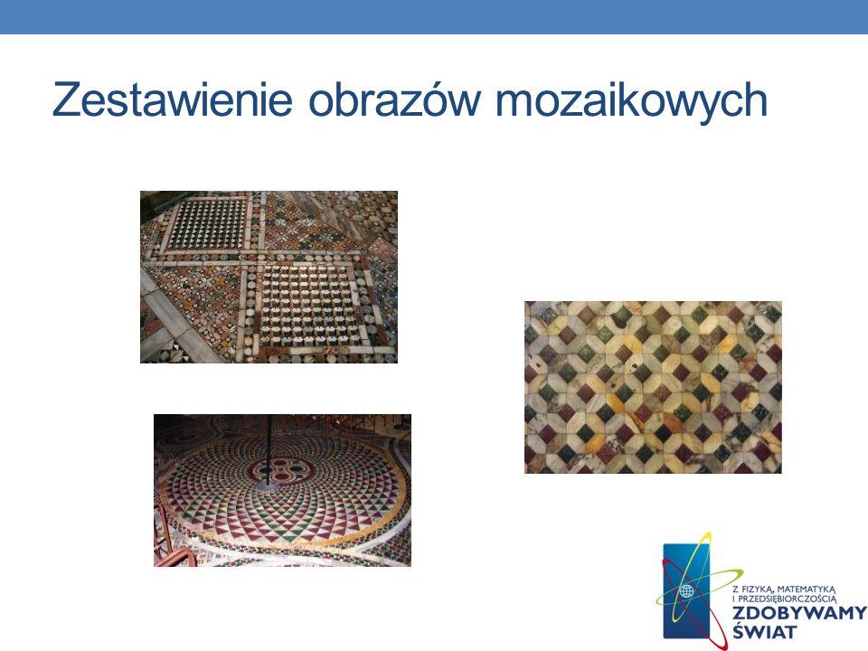 Zestawienie obrazów mozaikowych